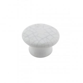 <PRE>Cabinet Knob Grayish Porcelain Crazed 1 1/2inch Dia </PRE>zoom5