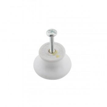 <PRE>Cabinet Knob Grayish Porcelain Crazed 1 1/2inch Dia </PRE>zoom7