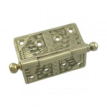 <PRE>Victorian Door Hinge Cast Solid Brass Ball Tip 4inch </PRE>zoom6