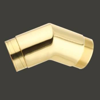 <PRE>Brass Flush Angle Fitting 135 degree 2inch OD Bar Foot Rail </PRE>zoom2