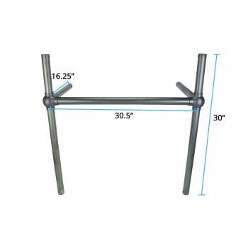 spec-<PRE>Black Nickel Bronze Bistro Legs for Belle Epoque Console Sink </PRE>