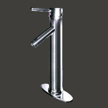 spec-<PRE>Bathroom Faucet Chrome Projection 1 Handle Single Hole </PRE>