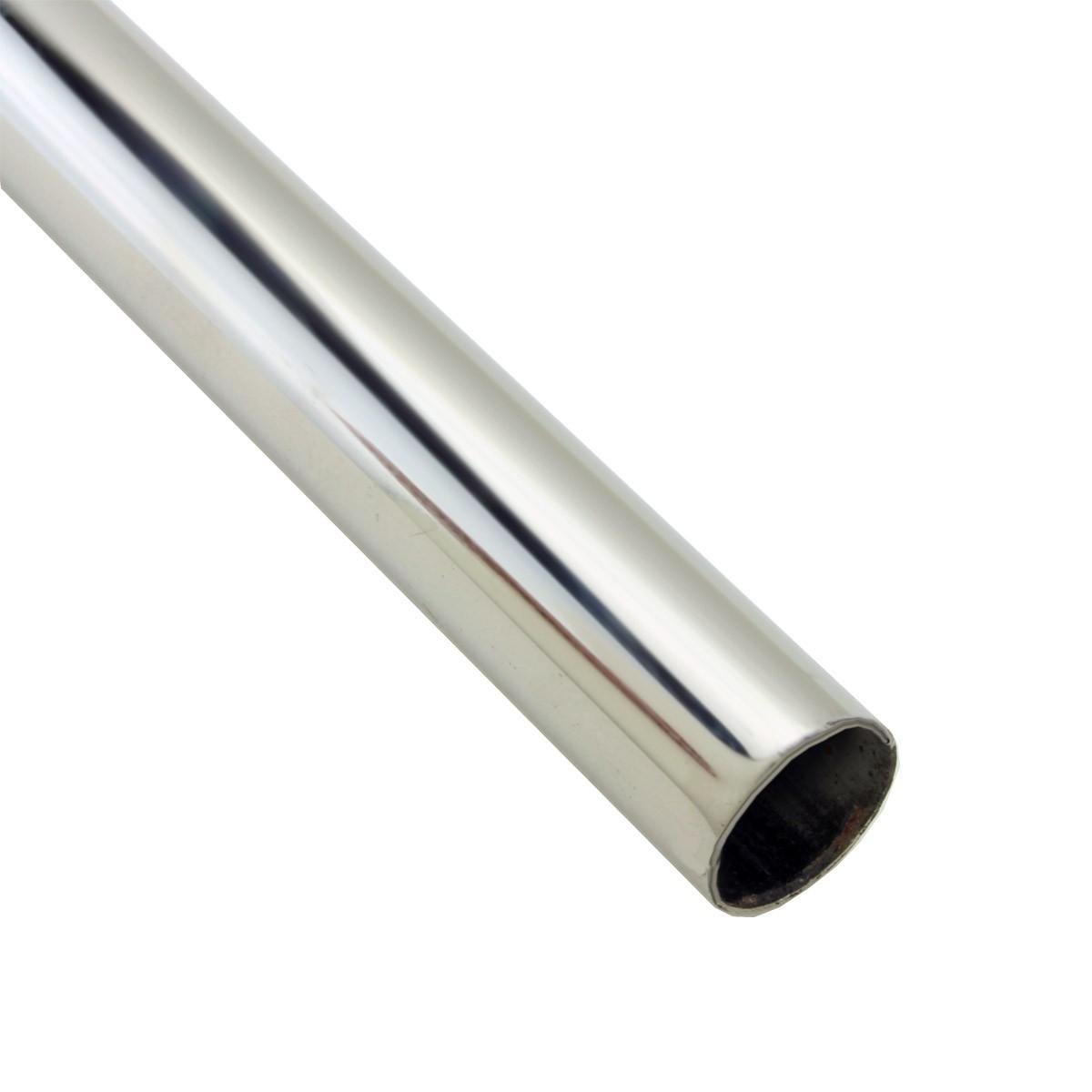 Polished Nickel Carpet Rod 39.5 inch Length, 0.5 inch Diameter Carpet Runner Rod Brass Runner Rod Stair Runner Rods
