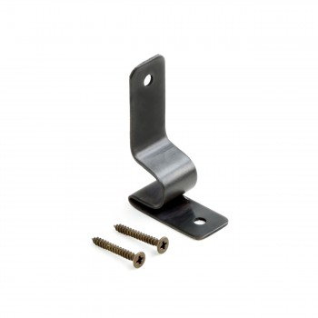 Oil Rubbed Bronze Stair Carpet Rod Bracket Holder Sold as Pair (Brackets only)22114grid