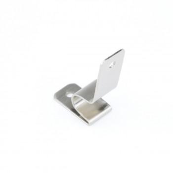<PRE>Brushed Satin Nickel Stair Carpet Rod Bracket Holder Brackets Only</PRE>zoom5