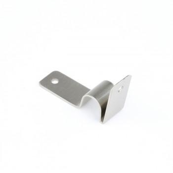<PRE>Brushed Satin Nickel Stair Carpet Rod Bracket Holder Brackets Only</PRE>zoom6
