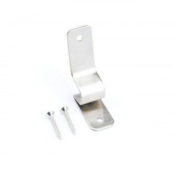 Brushed Satin Nickel Stair Carpet Rod Bracket Holder Brackets Only22115grid