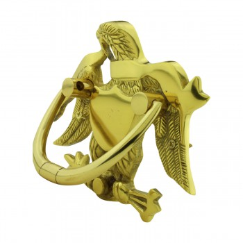 <PRE>Liberty Eagle Door Knocker For Front Door Solid Brass</PRE>zoom5
