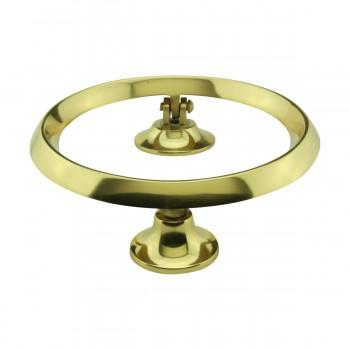 <PRE>Beveled Circle Shaped Brass Ring Door Knocker 5 inch </PRE>zoom7