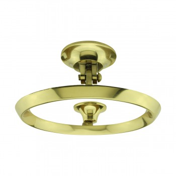 <PRE>Beveled Circle Shaped Brass Ring Door Knocker 5 inch </PRE>zoom8