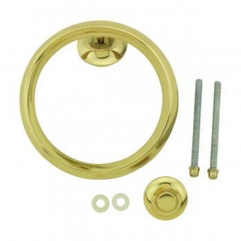 <PRE>Beveled Circle Shaped Brass Ring Door Knocker 5 inch </PRE>zoom9