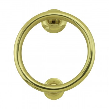 <PRE>Smooth Circle Shaped Brass Ring Door Knocker 5 inch</PRE>zoom3