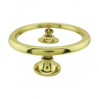<PRE>Smooth Circle Shaped Brass Ring Door Knocker 5 inch</PRE>zoom8