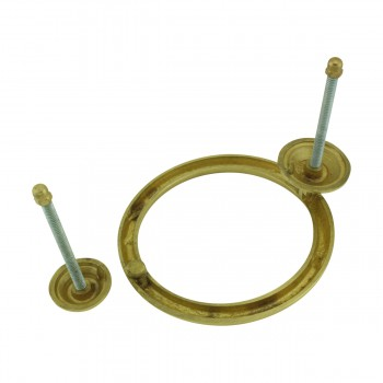 <PRE>Smooth Circle Shaped Brass Ring Door Knocker 5 inch</PRE>zoom9