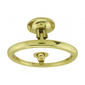 <PRE>Smooth Circle Shaped Brass Ring Door Knocker 5 inch</PRE>zoom10