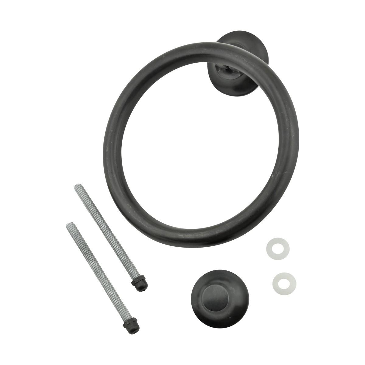 Oil Rubbed Bronze Circle Round Door Knocker