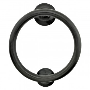 Smooth Circle Door Knocker Brass Oil Rubbed Bronze 5 Inch