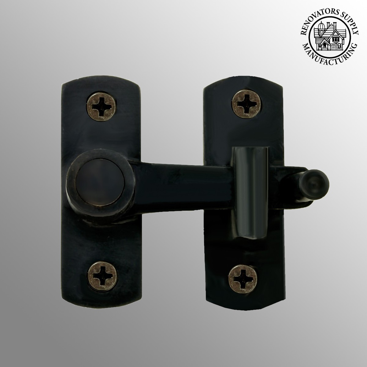turn thumb iron cabinet latch cupboard catch catches door lock cast