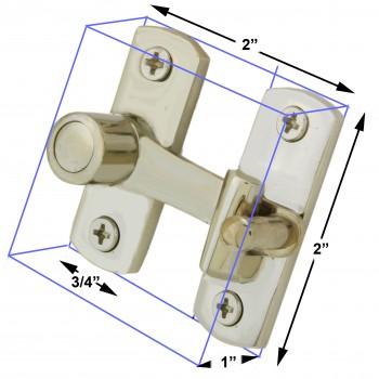 spec-<PRE>Satin Nickel Cabinet Cupboard Latch Catch Modern  Manufacturing</PRE>