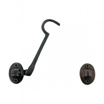<PRE>Oil Rubbed Bronze Cabin Hook 4 inch</PRE>zoom3