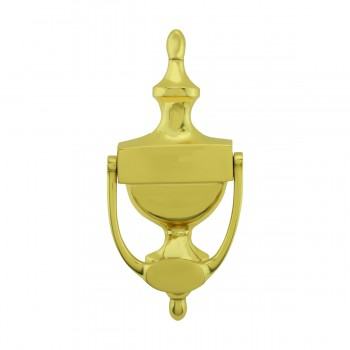 <PRE>Traditional Style Door Knocker Solid Brass 8 inch. H x 3.5 inch. W</PRE>zoom3