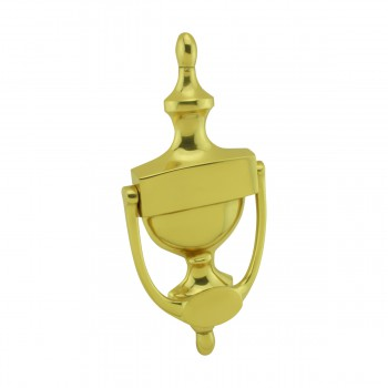 <PRE>Traditional Style Door Knocker Solid Brass 8 inch. H x 3.5 inch. W</PRE>zoom4