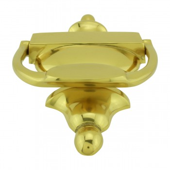 <PRE>Traditional Style Door Knocker Solid Brass 8 inch. H x 3.5 inch. W</PRE>zoom7