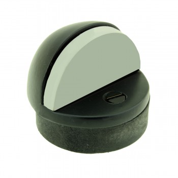 Matte Black Floor Door Stopper
