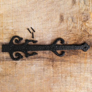 <PRE>12&quot; Wrought Iron Dummy Hinge &quot;Poseidon Design&quot;</PRE>