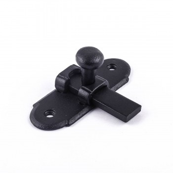 "<PRE>Classic Slide Style Cabinet Latch Wrought Iron 3inchH x 1.25""W </PRE>zoom6"