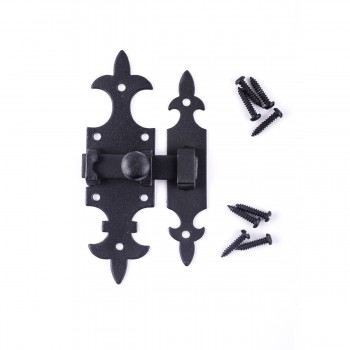 Cabinet Latch Wrought Iron Cabinet Latch Antique Black Cabinet Latch