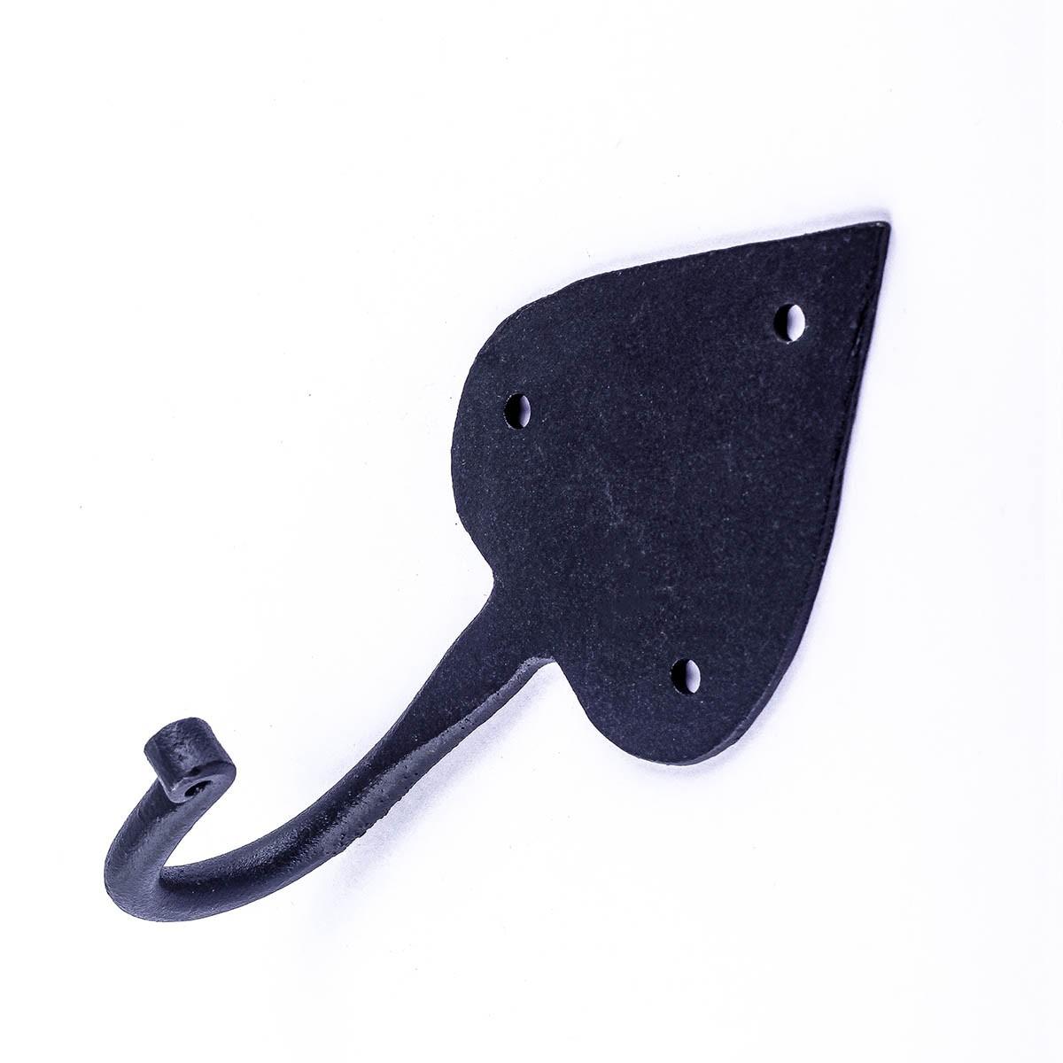 Wrought Iron Coat Hooks Coat Hook Black Hat Hook Black