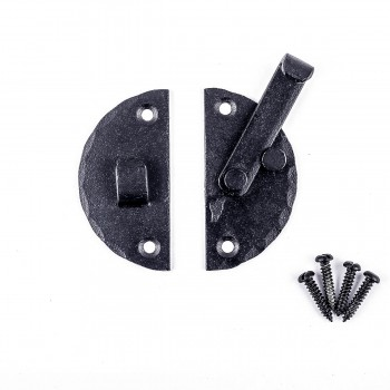 <PRE>Wrought Iron Cabinet Latch Circular Catch 2 7/8inch</PRE>zoom3