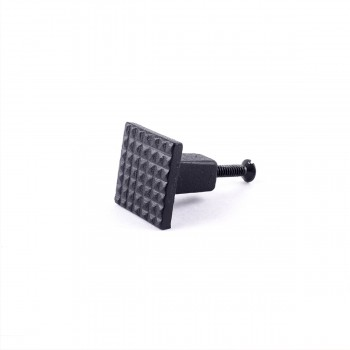 Square Grid Iron Cabinet Knob Black Square Cabinet Knobs Vintage Dresser Hardware Knobs Antique Cabinet Knobs