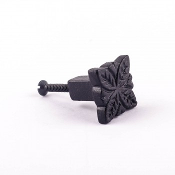 <PRE>Flower Cabinet Hardware Iron Cabinet Knob Black</PRE>zoom4
