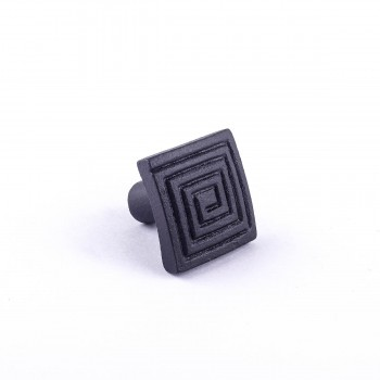 Square Maze Cabinet Hardware Iron Cabinet Knob Black Square Cabinet Knobs Vintage Dresser Hardware Knobs Antique Cabinet Knobs