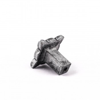 <PRE>Iron Cabinet Knob Pewter Finish Target Design Cabinet Hardware</PRE>