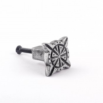 <PRE>Iron Cabinet Knob Pewter Finish Target Design Cabinet Hardware</PRE>zoom1