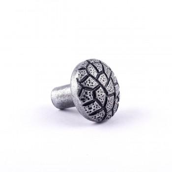 <PRE>Iron Cabinet Knob Round Cobble Stone Design Pewter Finish Cabinet Hardware</PRE>zoom5