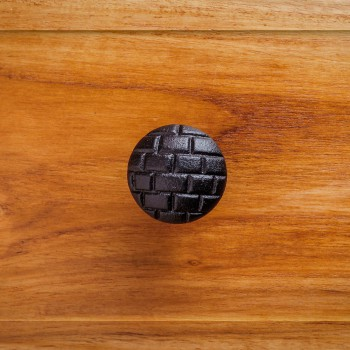<PRE>Black Iron Cabinet Knobs And Pulls Round Brick Design Cabinet Hardware</PRE>zoom2