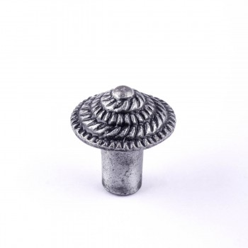 <PRE>Round Iron Cabinet Knob Pewter Finish Fibonacci Design Cabinet Hardware  </PRE>zoom7