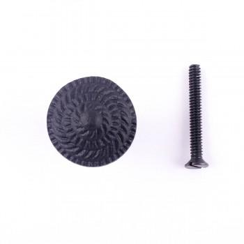 <PRE>Round Iron Cabinet Knob Black Fibonacci Design Cabinet Hardware</PRE>zoom4