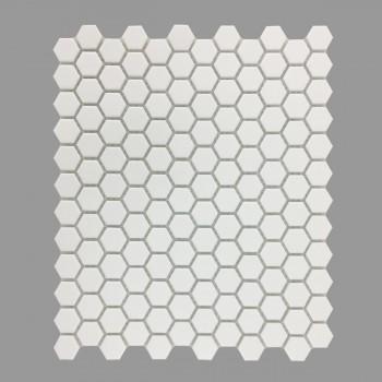 <PRE>Matte White Hexagonal Tile Porcelain For Floors or Walls 19.3 SQ FT 23 Tiles </PRE>zoom2