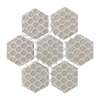 <PRE>Matte White Hexagonal Tile Porcelain For Floors or Walls 19.3 SQ FT 23 Tiles </PRE>zoom7