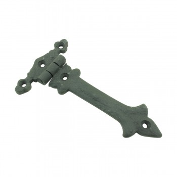 <PRE>5 Inch Black Wrought Iron Cabinet Hinge Strap Southern Charm Barn Door Hardware</PRE>zoom4