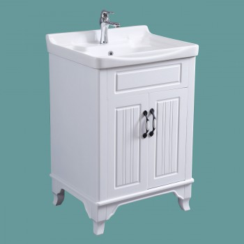 <PRE>Bathroom Cabinet Vanity Sink White Vitreous China Freestanding</PRE>zoom2