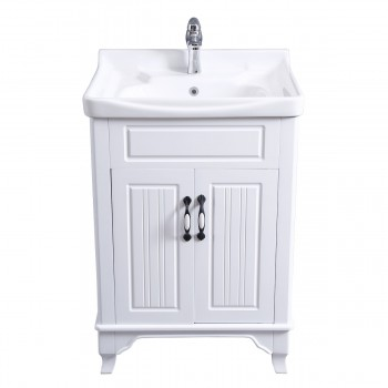 <PRE>Bathroom Cabinet Vanity Sink White Vitreous China Freestanding</PRE>zoom3