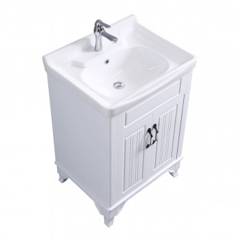 <PRE>Bathroom Cabinet Vanity Sink White Vitreous China Freestanding</PRE>zoom6