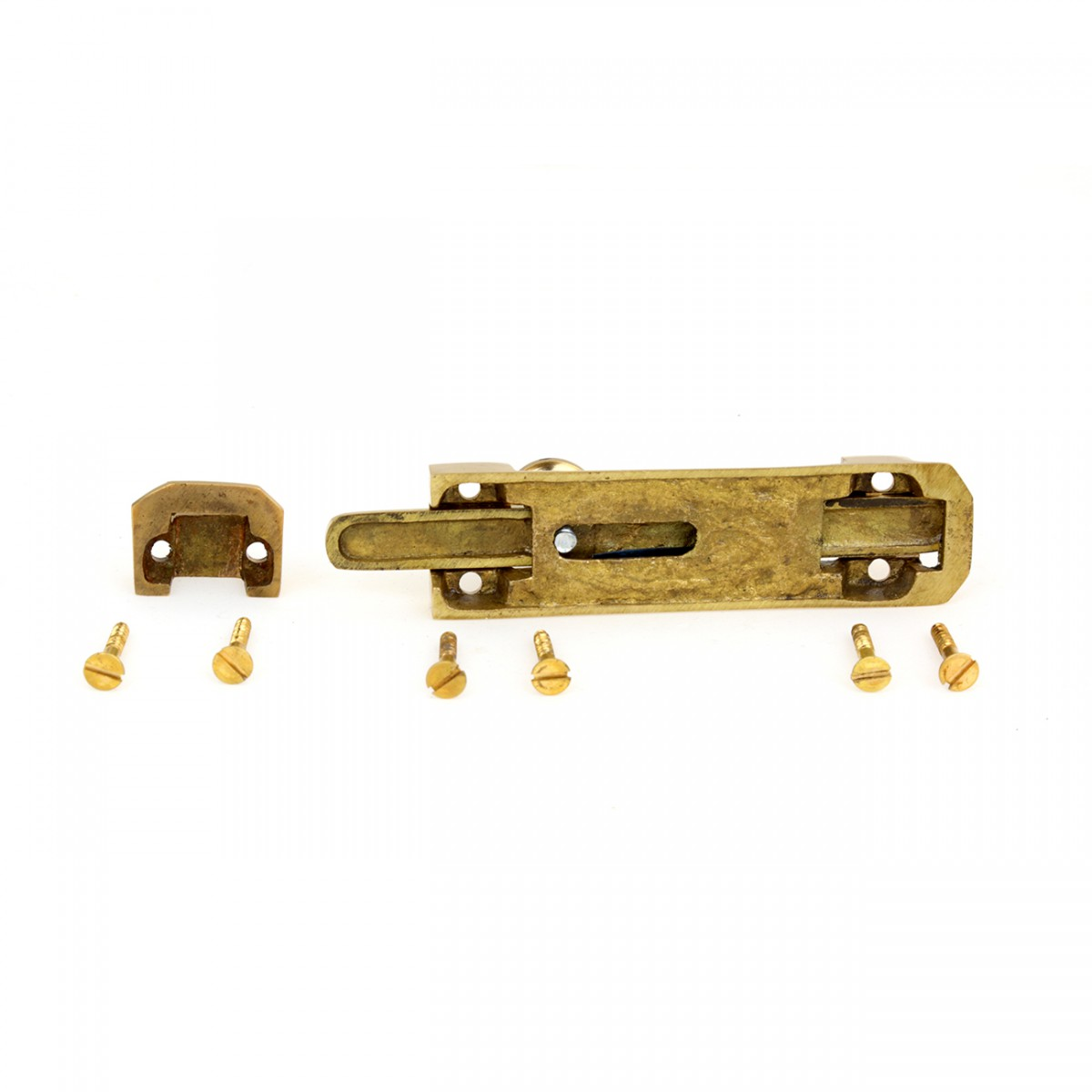 4 Brass Casted Door Slide Bolt Brass Slide Bolt Slide Lock For Door Gold Slide Latch Lock