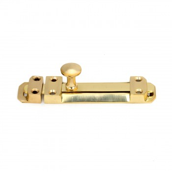 <PRE>4inch Brass Casted Door Slide Bolt </PRE>zoom4